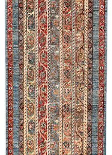Multi Colored Shawl 2' 8 x 10' - No. 65625