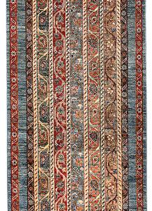 Multi Colored Shawl 2' 8 x 10' - No. 65627