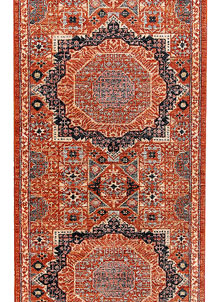 Orange Red Mamluk 2' 8 x 9' 9 - No. 65640