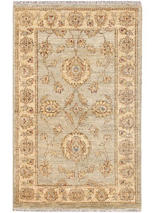 Antique White Oushak 2' 6 x 3' 11 - No. 65654