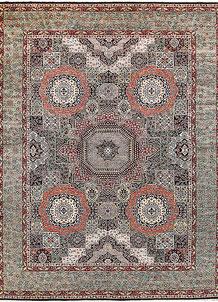 Multi Colored Mamluk 9' 2 x 12' - No. 65730