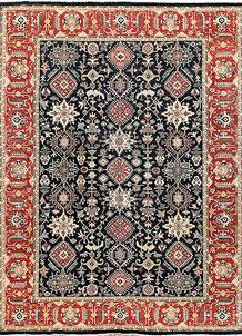 Multi Colored Ziegler 8' 10 x 11' 3 - No. 65733