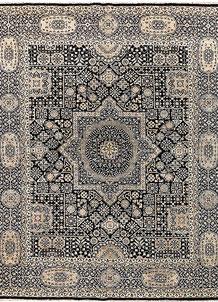 Black Mamluk 8' x 9' 8 - No. 65743