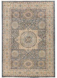 Light Slate Grey Mamluk 6' x 8' 10 - No. 65745