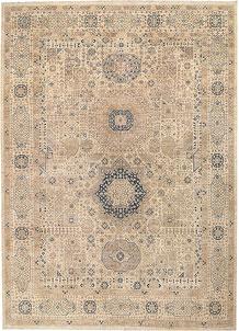 Blanched Almond Mamluk 9' 8 x 13' 5 - No. 65775