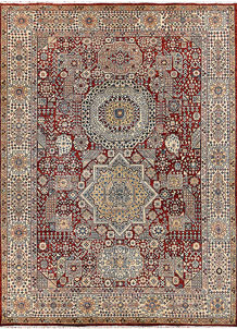 Firebrick Mamluk 8' 9 x 11' 10 - No. 65779