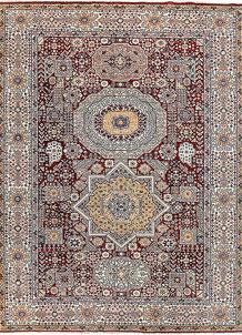 Maroon Mamluk 8' 4 x 11' 1 - No. 65780