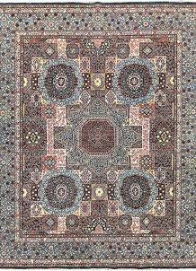 Multi Colored Mamluk 4' 10 x 9' 8 - No. 65782