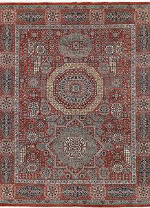 Firebrick Mamluk 8' x 9' 9 - No. 65784