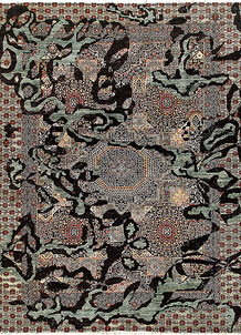 Black Mamluk 9' x 11' 11 - No. 65805