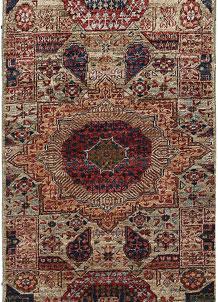 Olive Mamluk 2' x 4' 8 - No. 65958