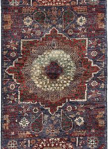 Dark Slateblue Mamluk 2' x 4' 9 - No. 66001
