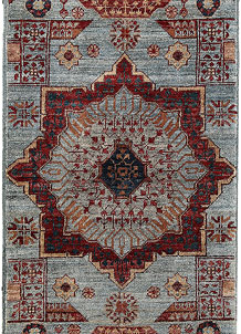 Light Slate Grey Mamluk 1' 11 x 4' 9 - No. 66005