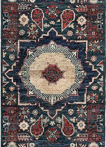 Teal Mamluk 2' x 4' 9 - No. 66028