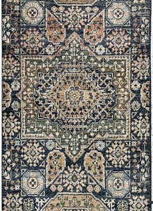 Steel Blue Mamluk 1' 11 x 4' 4 - No. 66029