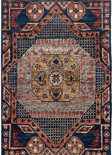 Steel Blue Mamluk 1' 11 x 3' 10 - No. 66040