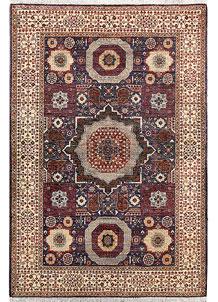 Rebecca Purple Mamluk 3' 11 x 5' 9 - No. 66079