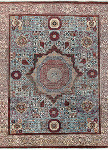 Light Blue Mamluk 8' x 10' - No. 66146