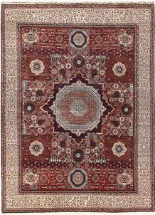 Dark Red Mamluk 9' x 11' 6 - No. 66177