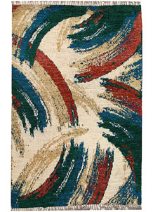 Multi Colored Abstract 6' 8 x 10' 2 - No. 66339