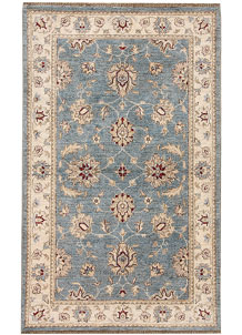 Sky Blue Ziegler 2' 11 x 4' 10 - No. 66435
