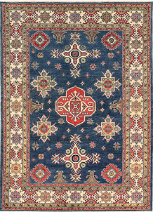 Dark Blue Kazak 5' 8 x 7' 9 - No. 66488