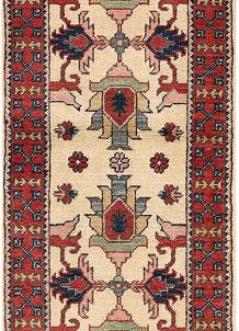 Blanched Almond Kazak 2' x 5' - No. 66556
