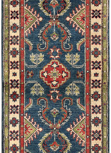 Medium Blue Kazak 2' 1 x 6' 5 - No. 66581