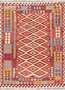 Multi Colored Kilim 4' 9 x 6' 4 - No. 66629