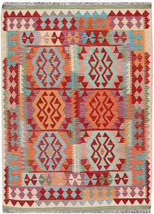 Multi Colored Kilim 4' 11 x 6' 7 - No. 66630