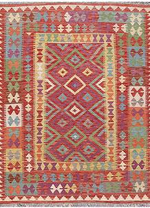 Multi Colored Kilim 5' x 6' 6 - No. 66633