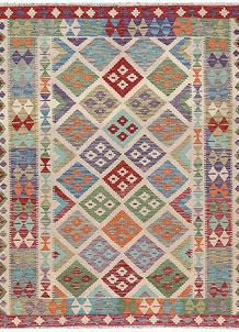 Multi Colored Kilim 5' 1 x 6' 4 - No. 66648