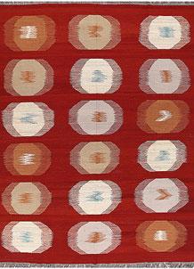 Red Kilim 8' 2 x 10' 1 - No. 66663