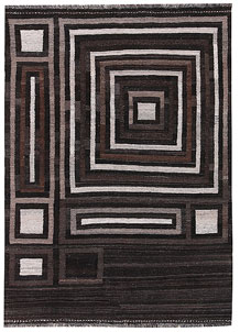 Multi Colored Kilim 4' 8 x 6' 6 - No. 66667