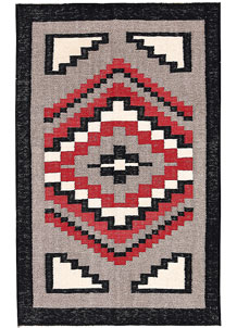 Multi Colored Kilim 3' 1 x 4' 11 - No. 66685