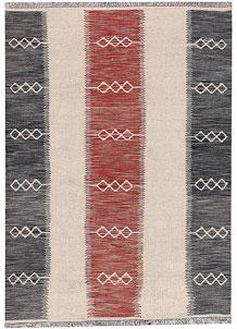 Multi Colored Kilim 4' 1 x 6' 5 - No. 66702