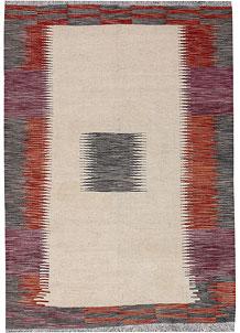 Multi Colored Kilim 4' 9 x 6' 8 - No. 66705