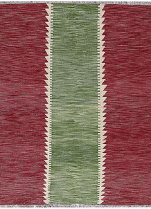 Multi Colored Kilim 5' 1 x 6' 6 - No. 66706