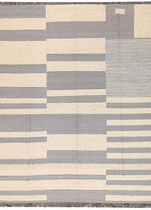 Multi Colored Kilim 8' 7 x 9' 9 - No. 66715