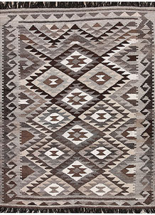 Multi Colored Kilim 4' 10 x 6' 6 - No. 66763