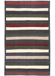 Multi Colored Kilim 4' 10 x 8' 2 - No. 66838