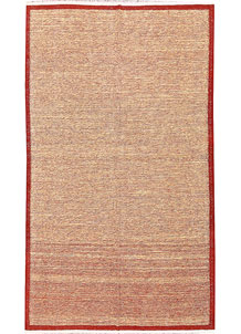 Multi Colored Kilim 4' 8 x 8' - No. 66840