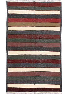 Multi Colored Kilim 4' 10 x 8' 2 - No. 66849