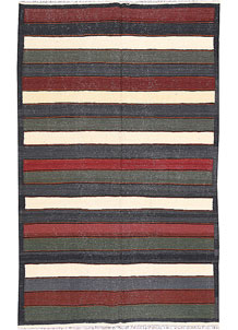 Multi Colored Kilim 5' x 8' - No. 66852