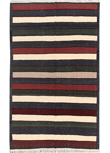 Multi Colored Kilim 4' 11 x 8' - No. 66867