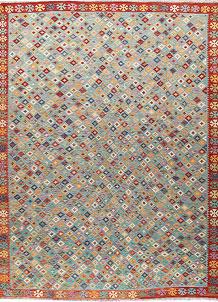 Multi Colored Kilim 9' x 12' 3 - No. 66961