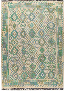 Multi Colored Kilim 8' 4 x 11' 2 - No. 66967