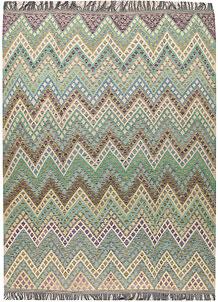 Multi Colored Kilim 8' 7 x 11' 2 - No. 66970