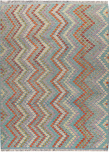 Multi Colored Kilim 8' 8 x 11' 8 - No. 66982