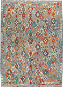 Multi Colored Kilim 8' 6 x 11' 8 - No. 66985